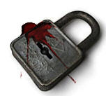 bloody lock by Fleshgrinder