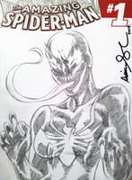 NYCC 2014 She-Venom sketch cover by mechangel2002