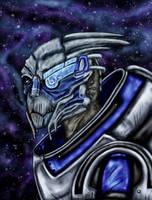 Garrus by silvershadoww