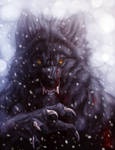 Winter Werewolf by Anuwolf