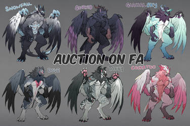 {Auction} Big Griffs on FA! [CLOSED] by talikira