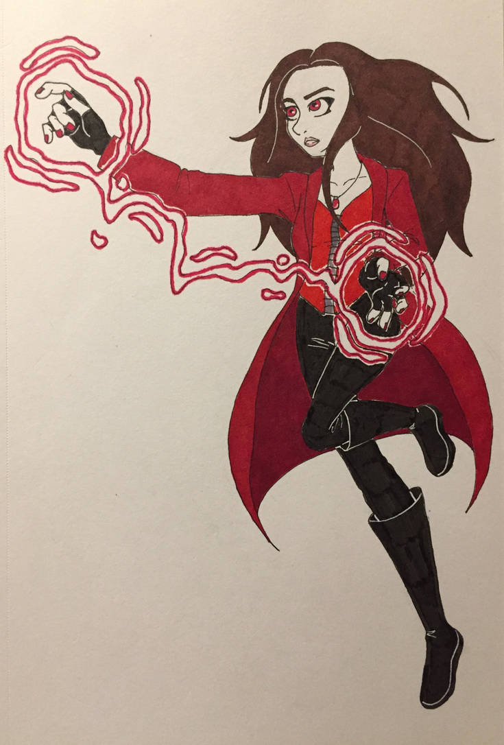 Scarlet Witch by WaterElement33