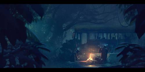 Bus by MateuszMajewski