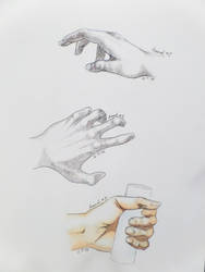 Hands Practice by necate