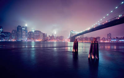 Brooklyn Bridge by seenew