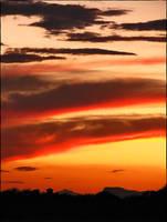 Thursdays Sunset by wonenownlee