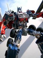 Optimus Prime custom 4 by SonRay