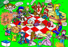 super smash picnic brawl by PB1593