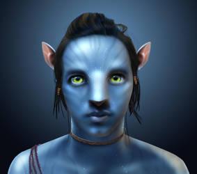 Avatar -Stevan as Navi- by castrochew