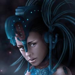 Mayan Princess by castrochew