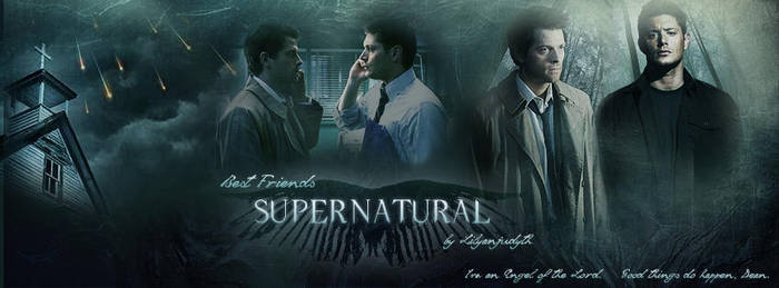Supernatural - Best Friends (Facebook Banner) by lilyanjudyth