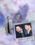Misha and Jensen (Tumblr Images) by lilyanjudyth