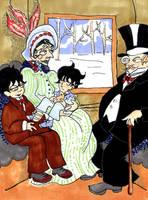 Little Sherlock's Family trip by elina-elsu