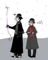 Holmes's pet bumbley by elina-elsu