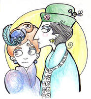 Miss Holmes and Miss Watson (again) by elina-elsu