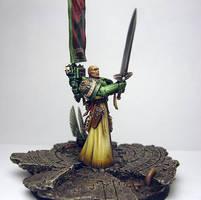 Azrael,Supreme Grand Master of the Dark Angels by kadiel1