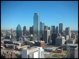 Downtown Dallas by Earthfeeler
