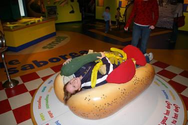 Human Hot Dog by Earthfeeler