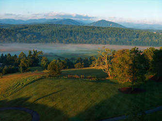 A Misty Morning 2 by Earthfeeler