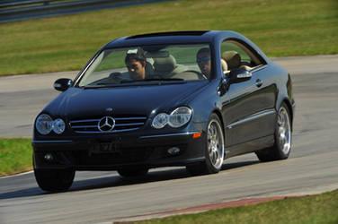 Mercedes Benz CLK Turn In by Earthfeeler