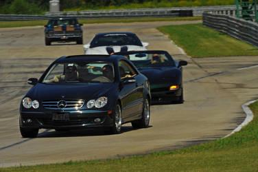 Mercedes Benz CLK Turn In 2 by Earthfeeler