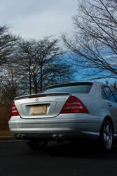 Mercedes C55 AMG 2 by Earthfeeler