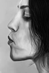 The innocent kiss by Demirhanocak