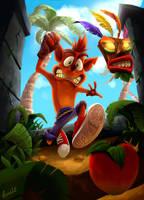 Crash Bandicoot Fan Art by Paulo-Man