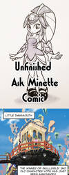 From the Vault - Unfinished Ask Minette Comic by Cellsai