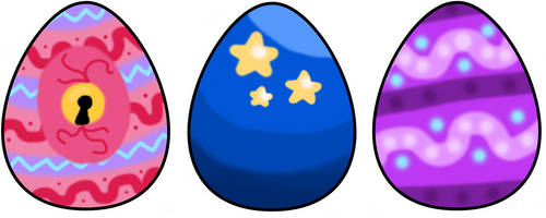 (CLOSED)! Mocchi Eggs! by Ma-ju-ja