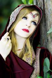 Samhain Sorceress by Kristhania