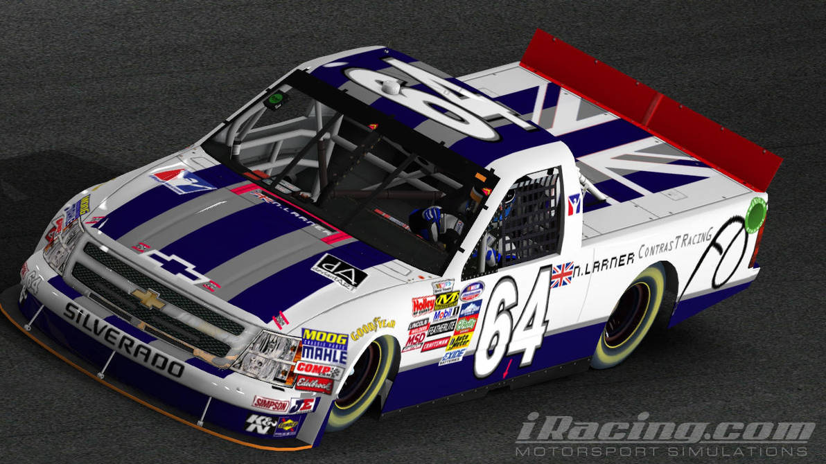 Chevrolet Silverado Livery - iRacing com by Niall-Larner on DeviantArt
