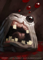 Monstro - the binding of Isaac by RichardVatinel