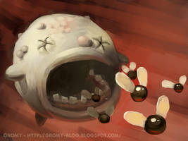 Duke of Flies - the binding of Isaac by RichardVatinel