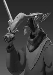 Goblin desperado by RichardVatinel