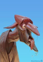 Goblin portrait 03 by RichardVatinel