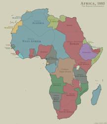 Africa: 1885 by joeltopian
