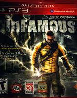 inFamous cover art by ksouth
