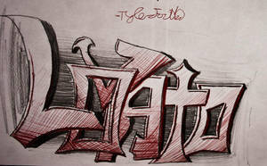 'Demi' Lovato Graffiti by ksouth