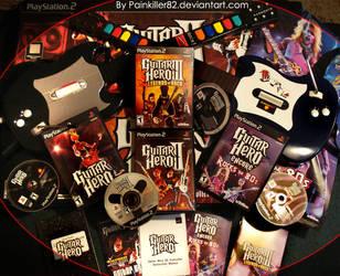 Guitar Hero series by Painkiller82