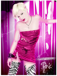 Alecia Beth Moore PINK by Painkiller82