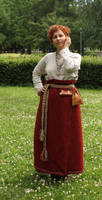 Estonian Viking Age woman by elote