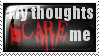 Thoughts Stamp by PUNURMiO