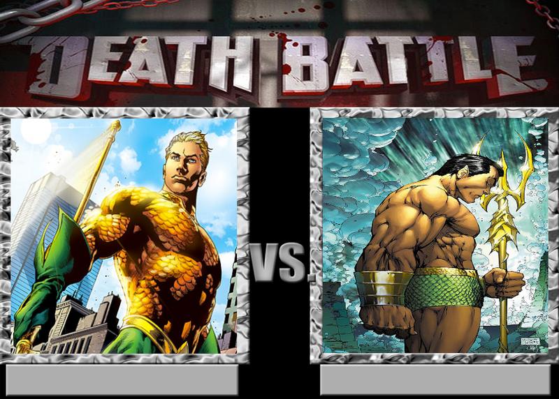 Death Battle Aquaman Vs Namor The Sub Mariner By Caharvey On Deviantart