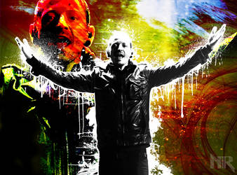 Linkin Park wallpaper - Chester Bennington by NeoRock096