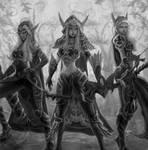 Windrunner Sisters by NeB-nebojsaobradovic