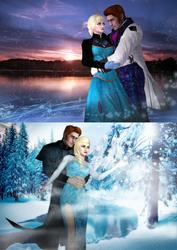 Frozen - Helsa - Ice Burns by SovietMentality