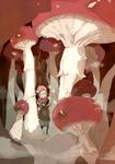 Mushroom Forest by ren-s