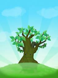 happy Tree by cavalars