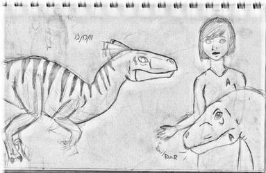 Sketchy1 by femaleceratosaurus